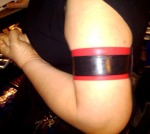 Red and Black Armband